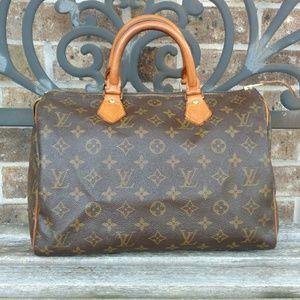 Louis Vuitton Authentic Speedy 30